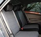 Чехлы на сиденья Мерседес W203 (Mercedes W203) (модельные, экокожа Аригон, отдельный подголовник), фото 4