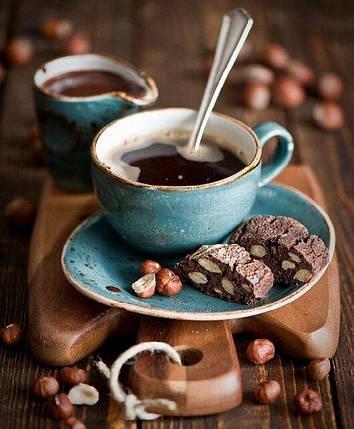 TN916Набор алмазной мозаики на подрамнике Любимый аромат кофе, фото 2