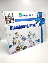 TN936 Набор алмазной мозаики на подрамнику Завтрак для любимой, фото 2