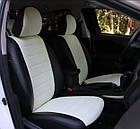Чехлы на сиденья Рено Лагуна (Renault Laguna) (модельные, экокожа Аригон, отдельный подголовник), фото 6