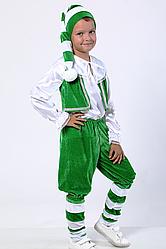 Карнавальный костюм Гном №2 (зелёный)