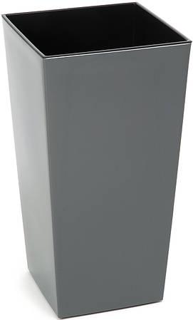 Кашпо LAMELA Финезия 47 х 25 см Серый (000002564)