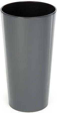Кашпо LAMELA Лилия 36 х 19 см Серый (000002581)
