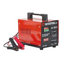 Пуско-зарядное устройство для аккумулятора автомобиля 6В-12В, 220В, 70А Intertool AT-3013