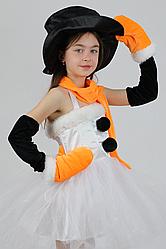 Карнавальный костюм Снеговичка