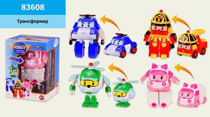 Трансформер Robocar Poli  83608
