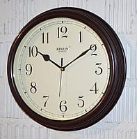 """Часы настенные """"Rikon RK3851"""" brown ivory (30 см.)"""
