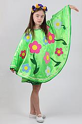 Карнавальный костюм Весна-Лето №1 (зелёный)