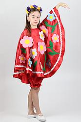 Карнавальный костюм Весна-Лето №1 (красный)
