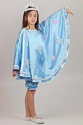 Карнавальный костюм Зима №1 (голубой)
