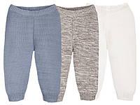 Детские Вязанные гамаши-штаны 50-92 рост Lupilu Pure collection
