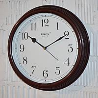 """Часы настенные """"Rikon RK3851"""" brown white (30 см.)"""