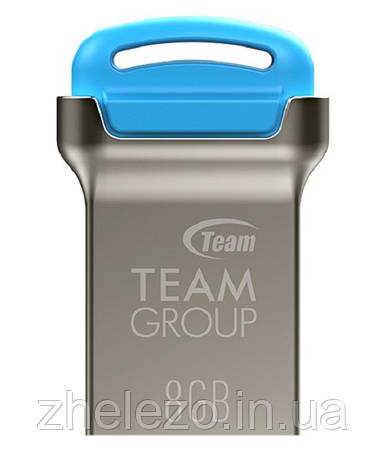 Флеш-накопичувач USB 8GB Team C161 Blue (TC1618GL01), фото 2