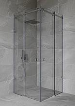 Розсувні душові двері кутові (розсувна душова)