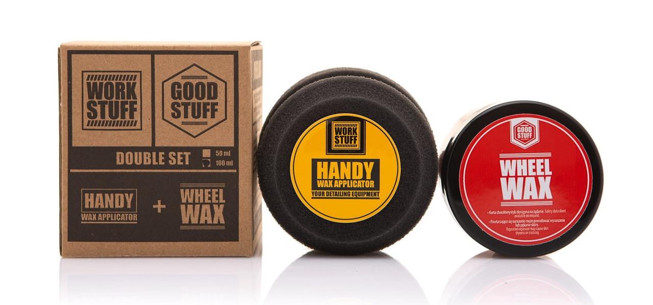 Защитный воск для колёсных дисков Wheel Wax с аппликатором