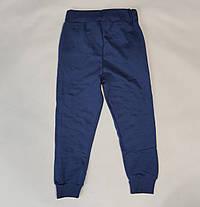 Бравл Старс brawl stars утепленные спортивные теплые штаны для мальчика синий 4-5 лет, фото 2