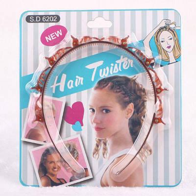 Обруч для заплетания косичек Twist Clip Barrette Braid Tool Magic Hair Accessories 184092