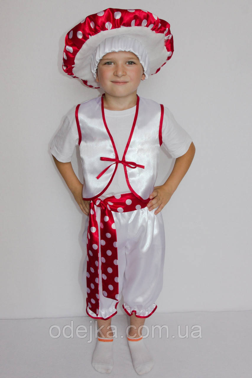Карнавальный костюм Мухомор №3 (мальчик)