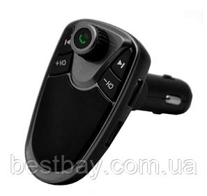 Автомобильный FM модулятор M1 с Bluetooth и MP3, AUX, фото 2