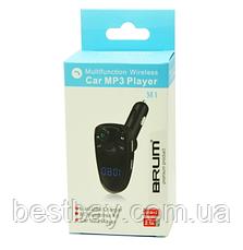 Автомобильный FM модулятор M1 с Bluetooth и MP3, AUX, фото 3
