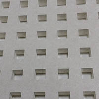 Перфорированный ГКЛ Knauf Cleaneo 12/25, Германия, квадратная перфорация, 2000мм. x 1200мм. х 12,5мм., фото 1
