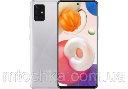 Телефон Samsung SM-A515F Galaxy A51 2020 4/64GB Duos metallic silver  (официальная гарантия)
