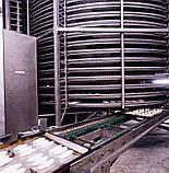 Спиральный охладитель слоек на противнях 1000 кг/ч, фото 5
