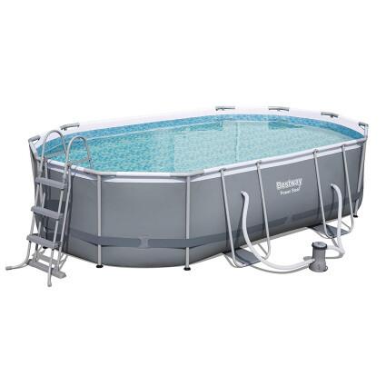 Bestway Каркасный бассейн Bestway 56448 Power Steel (488х305х107 см) с картриджным фильтром, лестницей и