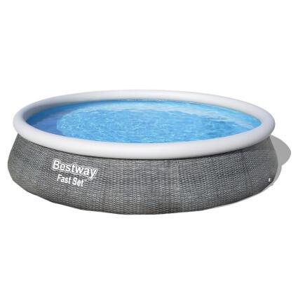 Bestway Надувной бассейн Bestway 57372 (457х107 см) с картриджным фильтром и лестницей