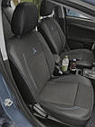 Чохли на сидіння Джилі СК2 (Geely CK2) (модельні, екошкіра+автоткань, окремий підголовник), фото 5