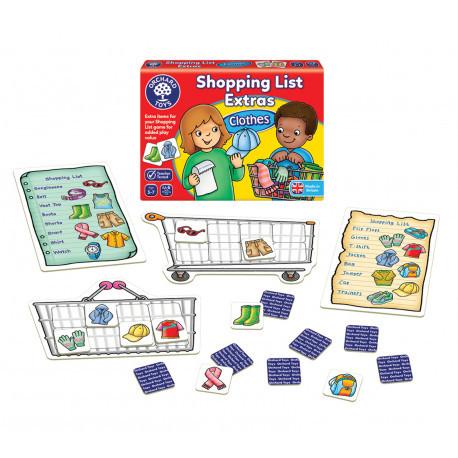 Дополнение к игре Список покупок. Одежда. Orchard Toys