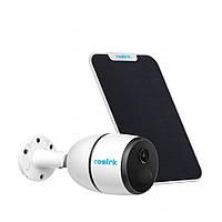 Автономная камера видеонаблюдения Reolink Go 2MP | Солнечная панель| 3G/4G | IP65, фото 1