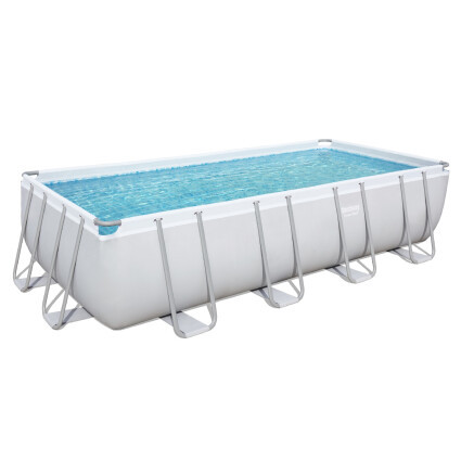 Bestway Каркасный бассейн Bestway 56671 (488х244х122 см) с песочным фильтром, лестницей и тентом
