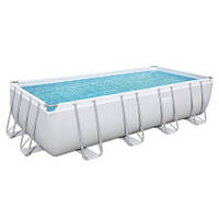 Bestway Каркасный бассейн Bestway 56671 (488х244х122 см) с песочным фильтром, лестницей и тентом, фото 1