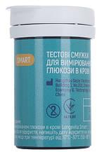 Тестовые полоски для глюкометра longevita smart 25 штук (smart ТП25)
