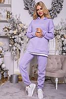Спорт костюм женский 102R107 цвет Сиреневый