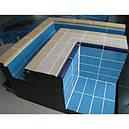 Aquaviva Плитка бордюрная с поручнем Aquaviva керамика + глазурь (AV3-1/YC3-1), фото 2