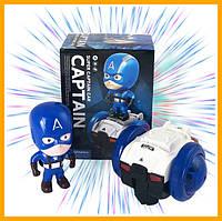 Детская игрушка машинка Super CAPTAIN Сar с диско-светом и музыкой интерактивная игрушка