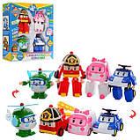 Детский игровой набор Робокар Поли из 4 фигурок DT-335А, фото 2