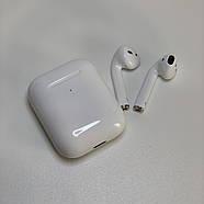 Беспроводные наушники AirPods 2 UTM PopUp, Touch sensor + Имя и настройки с беспроводной зарядкой, фото 5
