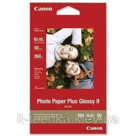 """Глянцевая фотобумага canon 4""""x6"""" photo paper glossy pp-201 50 листов (2311b003)"""