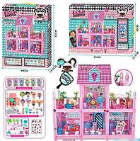"Домик для кукол LOL ЛОЛ 6 комнат ""Surprise House"" 8368"