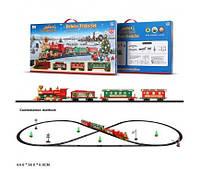 "Железная дорога батар. 1600A-7A  ""Merry Christmas"" 47 дет.,свет,звук,в коробке 64*36*6см(1600A-7A)"