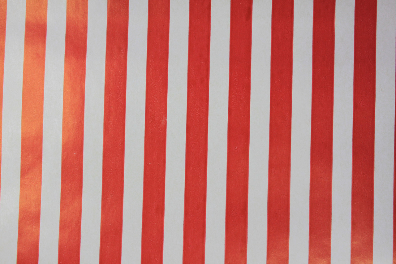 Бумага красная и белая полоса для упаковки подарков 100 на 70 см