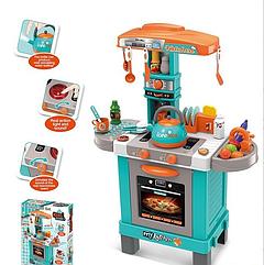 Детская игровая кухня музыкальная с паром 008-939 А