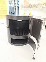 Печь (буржуйка) отопительная с варочной поверхностью.