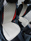 Накидки из эко-кожи (комплект) на сиденья Renault Grand Scenic IV 2016+, фото 7