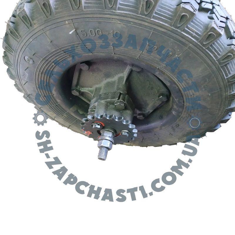 Колесо опорное СУПН-8 под цепь 15,875