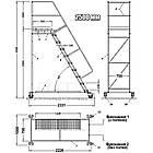 Драбина Н2500 мм для складських стелажів, фото 3