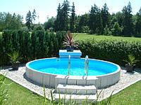 Сборный каркасный бассейн Hobby Pool MILANO 5,00 х 1,5м пленка 0.6мм